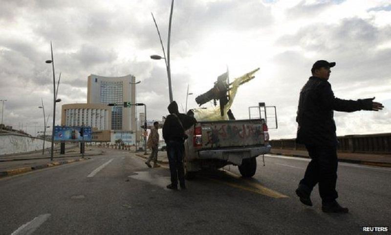 3 killed in Libya car bombing attack