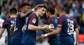 PSG beats Metz 5-0 to maintain huge lead in French league