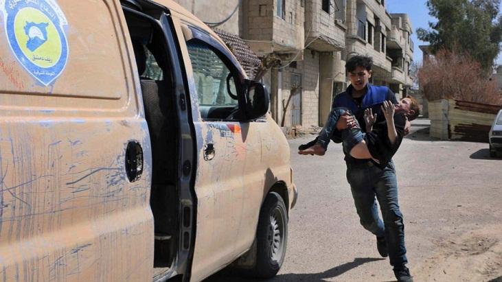 More civilians leave Syrian rebel enclave as army advances