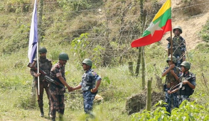 BGB, BGP conduct joint patrol along border