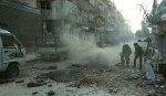 Syrian army bombs 'splintered' Ghouta enclave