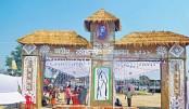 Jatiya Rabindra Sangeet Sammelan ends at Nilphamari