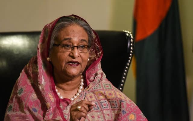 'Be our development partners', Hasina to investors in Singapore