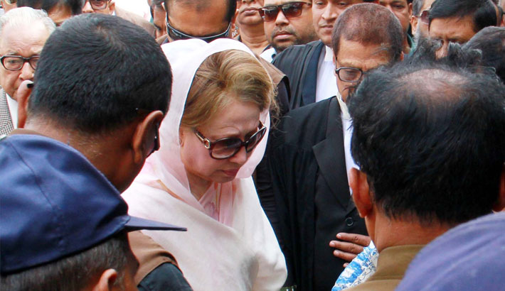Supreme Court full bench to hear appeals against Khaleda's bail Wednesday