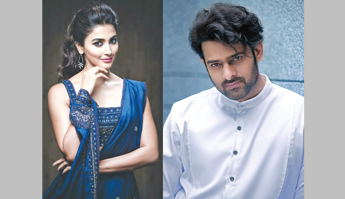 Pooja signs a film with Prabhas