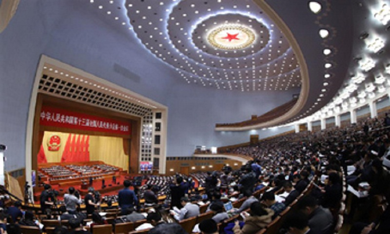 China unveils cabinet reshuffle plan