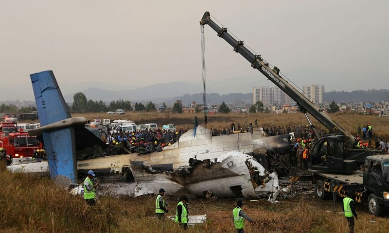 India condoles loss of lives in Kathmandu air crash, offers help