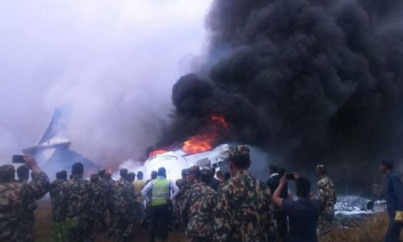 Nepal plane crash survivors describe chaos
