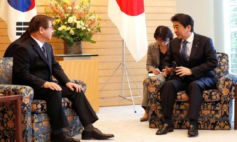 Japan calls for North Korean steps toward denuclearization