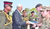 Multinational exercise Shanti Doot-4 ends