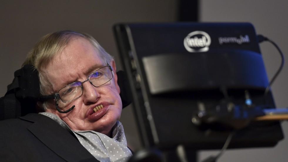 Scientist Stephen Hawking dies aged 76