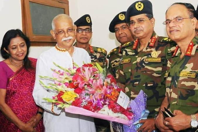 Dr Zafar Iqbal released from Hospital