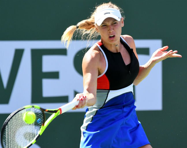 World No 2 Wozniacki ousted in Indian Wells