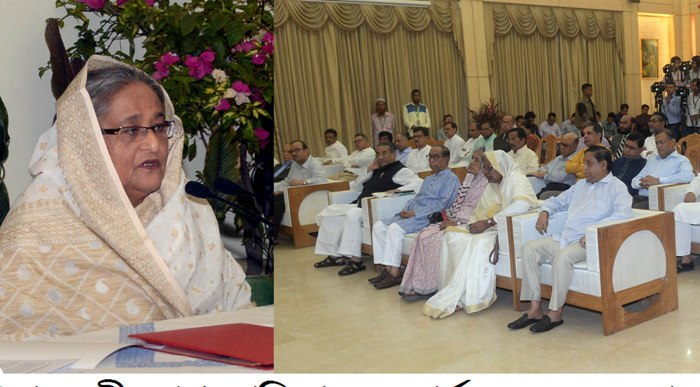 Hasina asks Awami League followers to stand beside families of plane crash victims