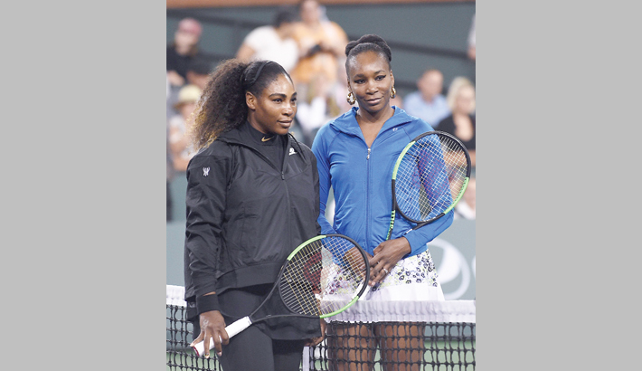 Serena ousted by sister Venus