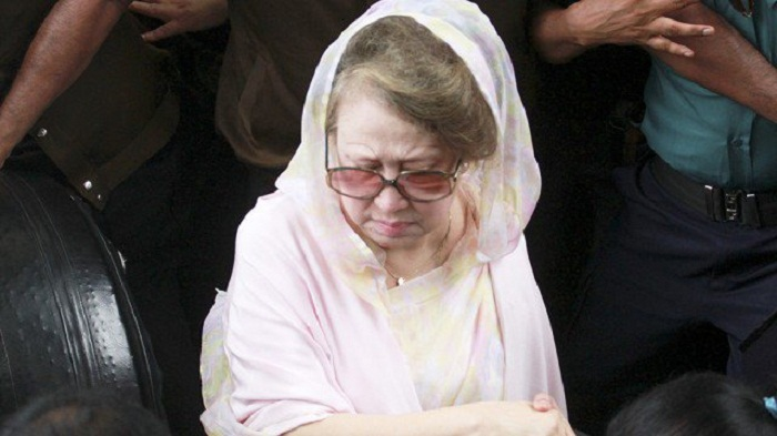 Khaleda Zia ordered to be produced in court March 28, 29