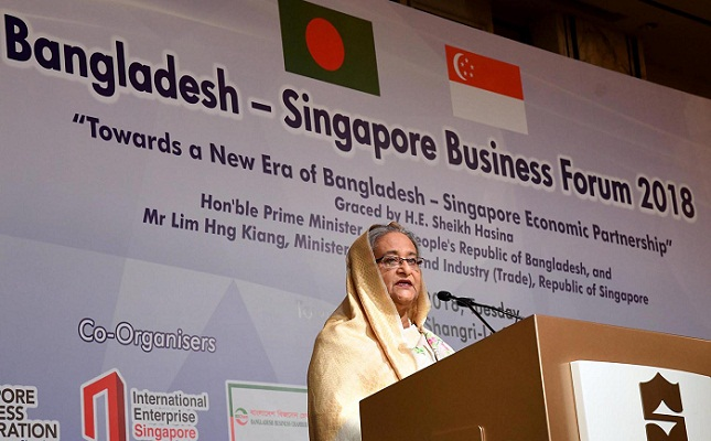 PM urges Singapore investors to be BD development partners