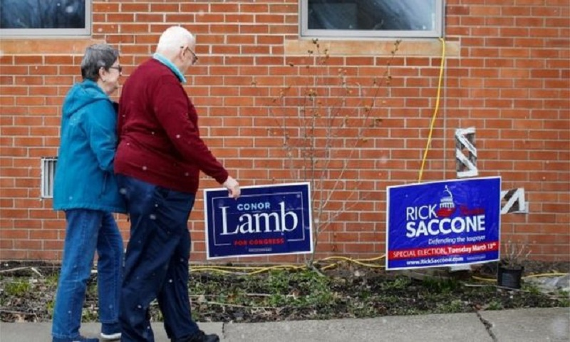 Test election held for Pennsylvania seat