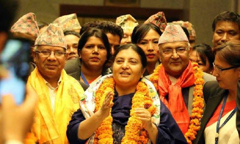 Bidya Devi Bhandari re-elected as President of Nepal