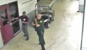 Video shows officer outside during Florida school massacre