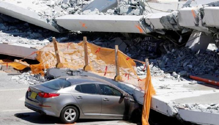 US Florida bridge engineer warned of crack before