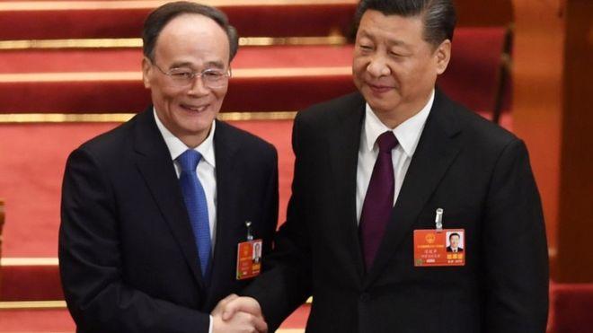 China anti-corruption chief Wang Qishan named Xi Jinping's deputy