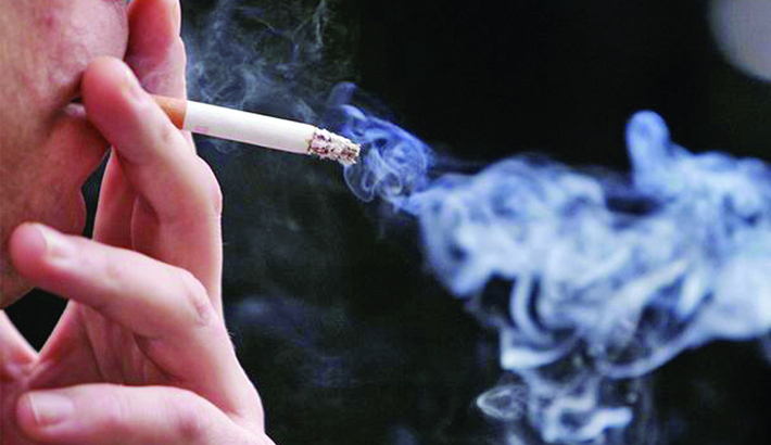 None to stop smoking at public places!