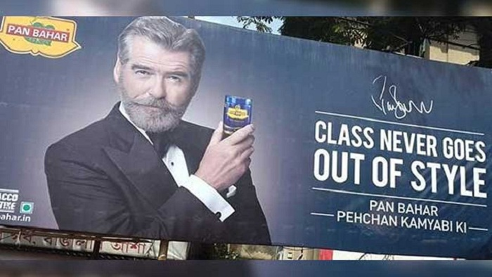 Brosnan alleges Indian company 'cheated' him over mouth freshener ads