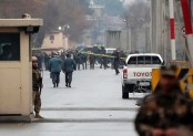 Afghan official says car bomber kills 2 in Kabul