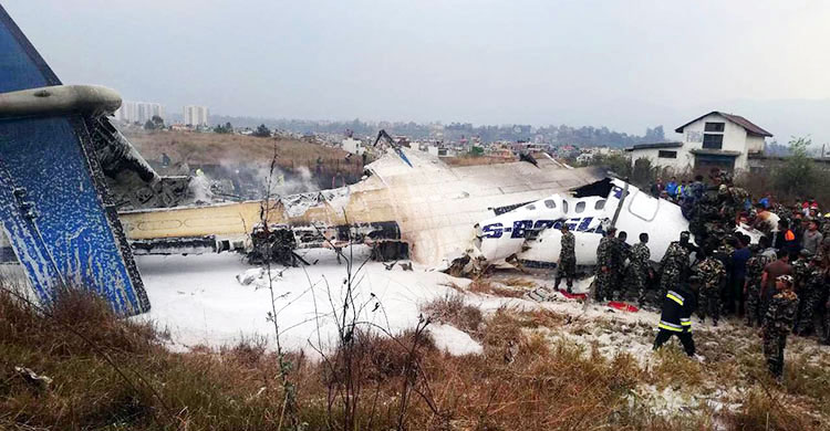 US-Bangla flight crash: 14 bodies out of 26 Bangladeshis identified