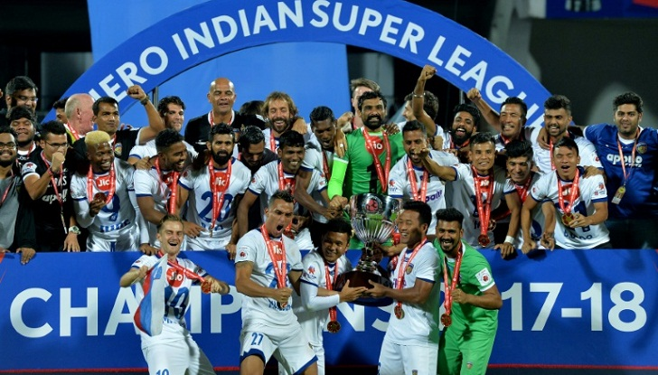 Chennai win second Indian Super League title
