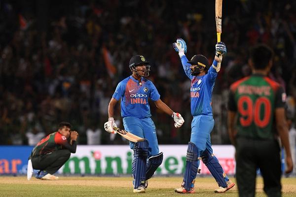 India clinch Nidahas title beating Bangladesh