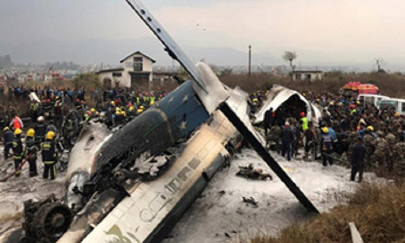 Bangladesh expert to investigate plane crash with Nepalese team