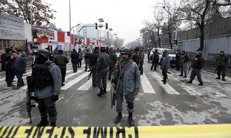 Taliban attack kills 5 Afghan police