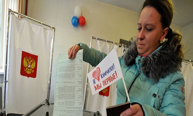 Anger as Ukraine doesn't allow Russians to vote