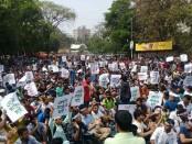 Students, job-seekers stage demo demanding quota reform