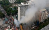 Manila hotel fire leaves at least 4 dead, 2 trapped