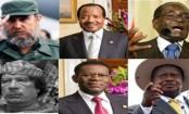 The world's longest-serving leaders