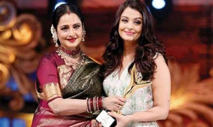 Rekha pens an emotional letter to Aishwarya Rai Bachchan on completing two decades in Bollywood
