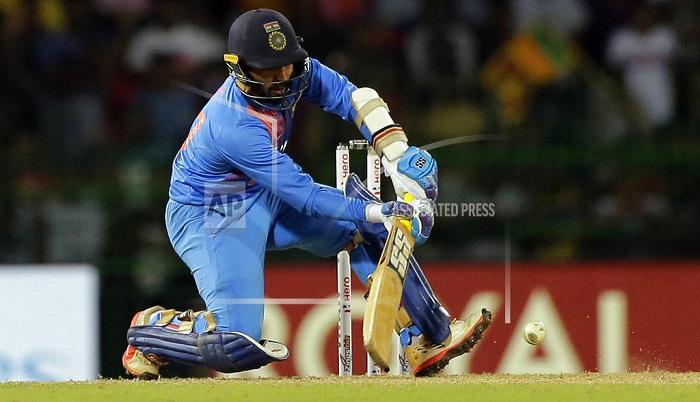 Karthik's last-ball six gifts India Nidahas title