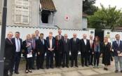 Turkish embassy in Denmark attacked