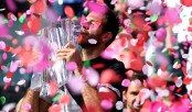 Del Potro outlasts Federer to win Indian Wells title