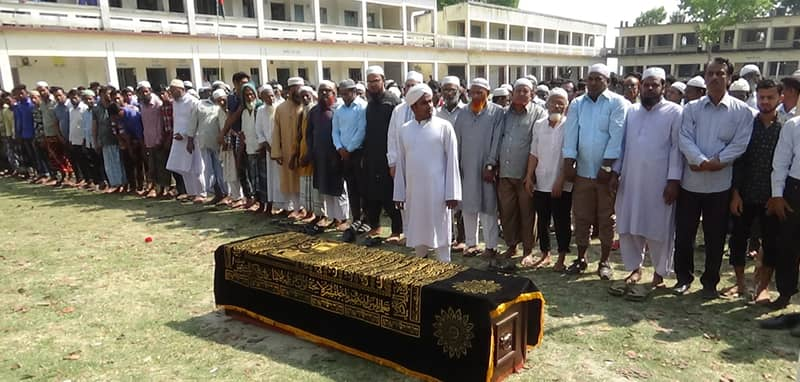 Nepal plane crash victim Mahmudur buried