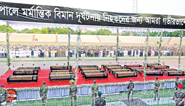 Bodies of 23 victims arrive, handed over to families