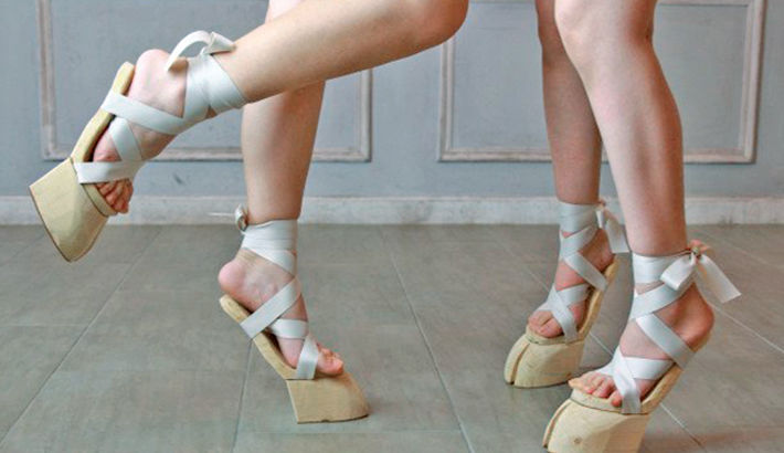 """Realistic """"hooves sandals""""-296530"""