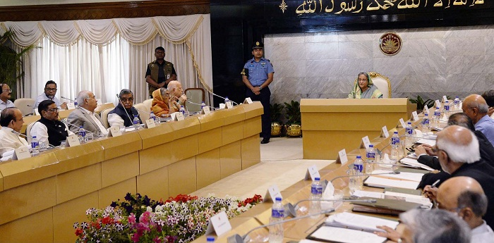 Cabinet greets Hasina on her being world's 2nd best PM