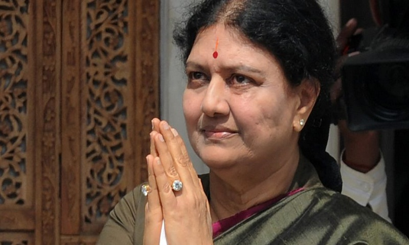 Sasikala gets 15-days parole to attend husband's funeral