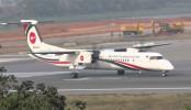 Biman flight makes emergency landing at Shahjalal