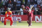 West Indies edge Zimbabwe to stay on World Cup course