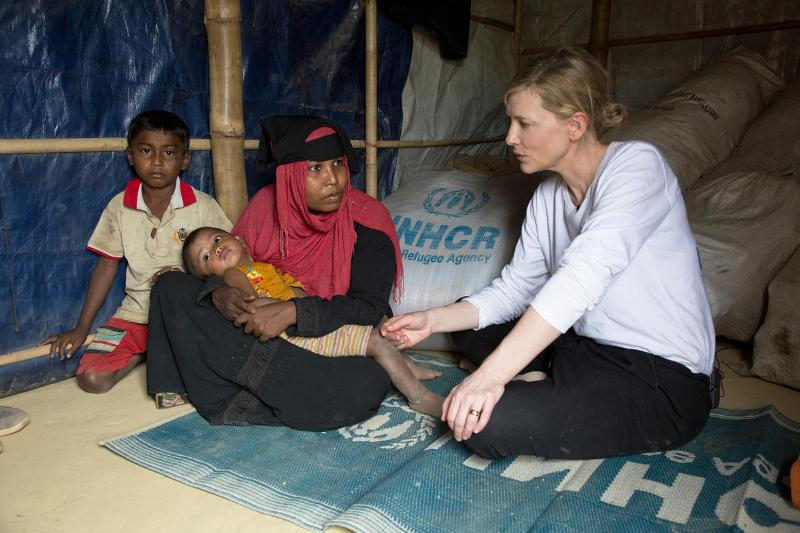 UNHCR envoy warns of 'a race against time' to protect Rohingyas